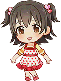 Image result for idolmaster miria transparent